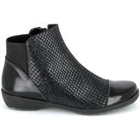 Topánky Ženy Polokozačky Boissy 8081 Noir Čierna