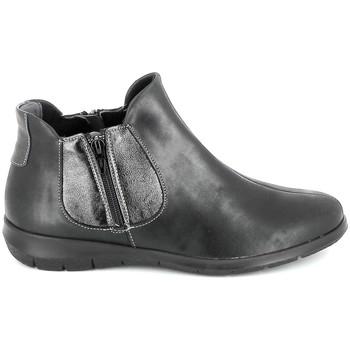 Topánky Ženy Polokozačky Boissy 66000 Noir Čierna