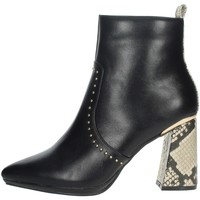 Topánky Ženy Čižmičky Menbur 21962 Black