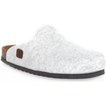 Topánky Nazuvky Bioline GHIACCIO MERINOS Bianco