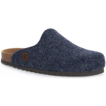Topánky Papuče Bioline JEANS MERINOS Blu