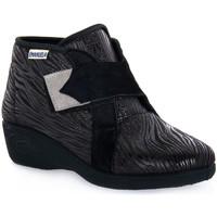 Topánky Ženy Členkové tenisky Emanuela 2302 VOX NERO Nero