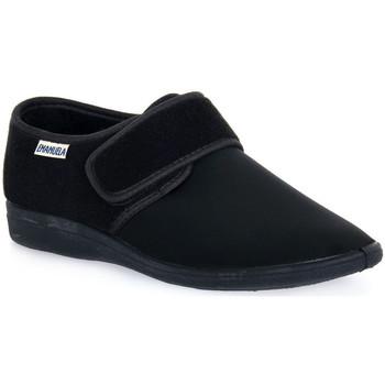 Topánky Muži Papuče Emanuela 985 NERO PANTOFOLA Nero