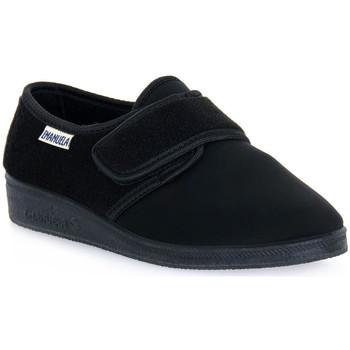 Topánky Muži Papuče Emanuela 601 NERO PANTOFOLA Nero