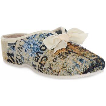 Topánky Ženy Papuče Emanuela 2900 GOBE 320 Grigio