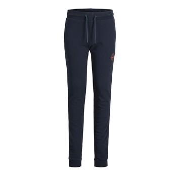 Oblečenie Chlapci Tepláky a vrchné oblečenie Jack & Jones JJIGORDON JJSHARK SWEAT PANT Námornícka modrá