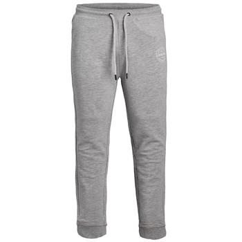 Oblečenie Chlapci Tepláky a vrchné oblečenie Jack & Jones JJIGORDON JJSHARK SWEAT PANT Šedá