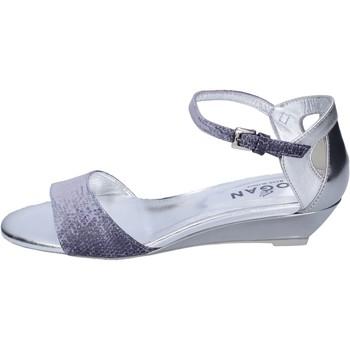 Topánky Ženy Sandále Hogan BK661 Modrá