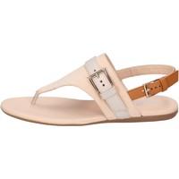 Topánky Ženy Sandále Hogan BK664 Béžová