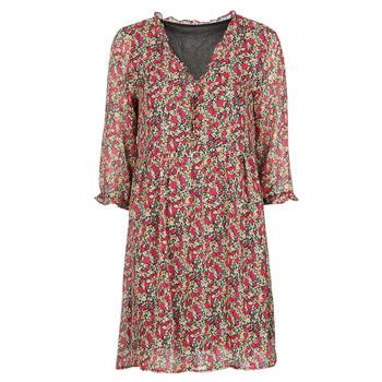Oblečenie Ženy Krátke šaty Betty London NEBECCA Červená / Viacfarebná