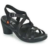 Topánky Ženy Sandále Art ALFAMA Čierna