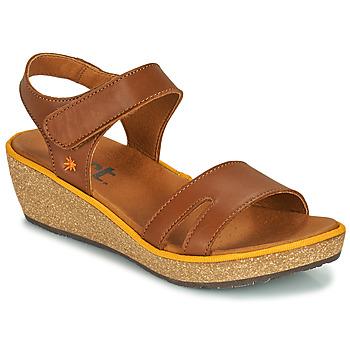 Topánky Ženy Sandále Art CAPRI Hnedá