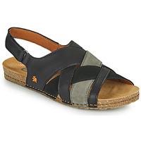 Topánky Ženy Sandále Art CRETA Čierna