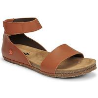Topánky Ženy Sandále Art CRETA Hnedá