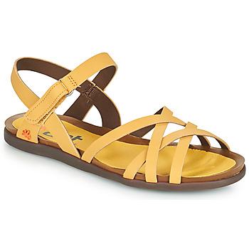 Topánky Ženy Sandále Art LARISSA Žltá