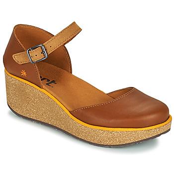 Topánky Ženy Šľapky Art PARMA Hnedá