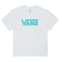 Oblečenie Dievčatá Tričká s krátkym rukávom Vans ECOLOGY Biela