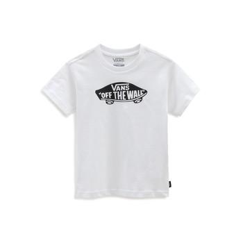 Oblečenie Deti Tričká s krátkym rukávom Vans VANS CLASSIC TEE Biela