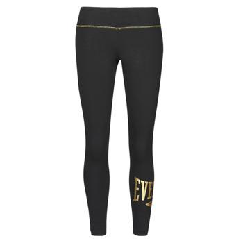 Oblečenie Ženy Legíny Everlast EVL-TIGHT-HOXIE Čierna