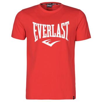 Oblečenie Muži Tričká s krátkym rukávom Everlast EVL- BASIC TEE-RUSSEL Červená