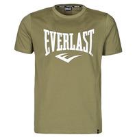 Oblečenie Muži Tričká s krátkym rukávom Everlast EVL- BASIC TEE-RUSSEL Kaki