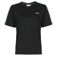 Oblečenie Ženy Tričká s krátkym rukávom Fila JAKENA Čierna