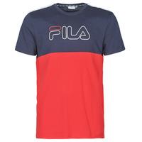 Oblečenie Muži Tričká s krátkym rukávom Fila JOPI Červená / Námornícka modrá
