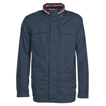 Oblečenie Muži Bundy  Geox WELLS FIELD Námornícka modrá