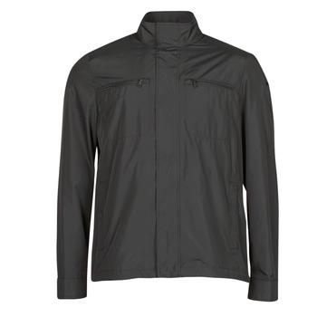 Oblečenie Muži Bundy  Geox JHARROD Čierna
