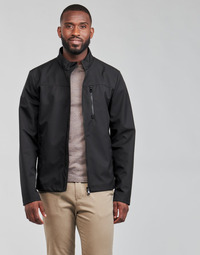 Oblečenie Muži Bundy  Geox OTTAYA Čierna