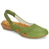 Topánky Ženy Sandále El Naturalista WAKATAUA Zelená