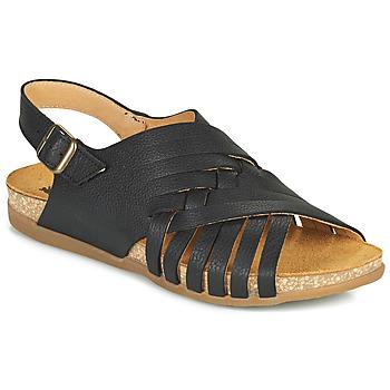 Topánky Ženy Sandále El Naturalista ZUMAIA Čierna