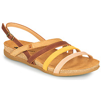 Topánky Ženy Sandále El Naturalista ZUMAIA Hnedá / Žltá / Ružová