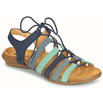 Topánky Ženy Sandále El Naturalista WAKATAUA Modrá