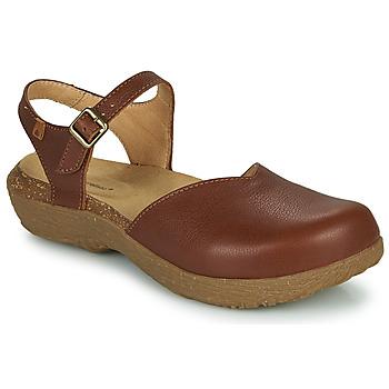 Topánky Ženy Sandále El Naturalista WAKATIWAI Hnedá
