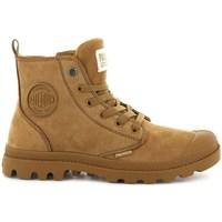 Topánky Ženy Polokozačky Palladium Boots Pampa HI Zip Hnedá