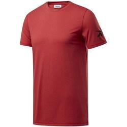 Oblečenie Muži Tričká s krátkym rukávom Reebok Sport Wor WE Commercial Tee Bordó