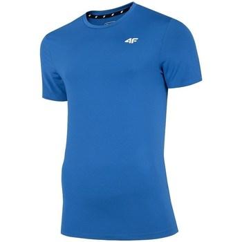 Oblečenie Muži Tričká s krátkym rukávom 4F TSMF002 Modrá