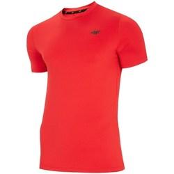 Oblečenie Muži Tričká s krátkym rukávom 4F TSMF002 Červená