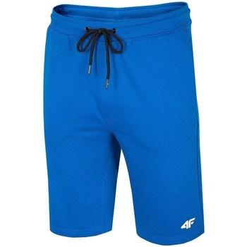 Oblečenie Muži Šortky a bermudy 4F SKMD001 Modrá