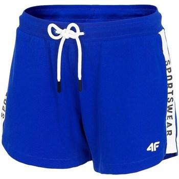 Oblečenie Ženy Šortky a bermudy 4F SKDD003 Modrá