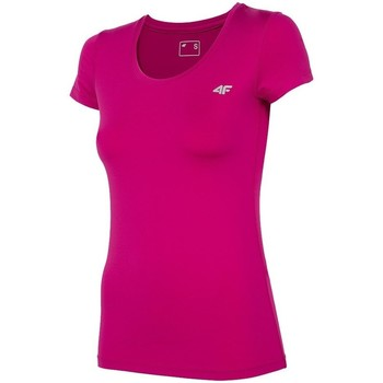 Oblečenie Ženy Tričká s krátkym rukávom 4F TSDF002 Ružová