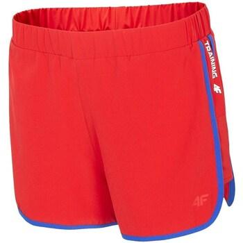Oblečenie Ženy Šortky a bermudy 4F SKDF001 Červená