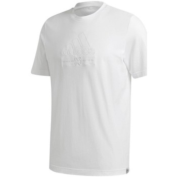 Oblečenie Muži Tričká s krátkym rukávom adidas Originals Brilliant Basics Tee Biela