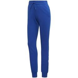 Oblečenie Ženy Tepláky a vrchné oblečenie adidas Originals Essentials Linear Pant Modrá