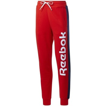 Oblečenie Ženy Tepláky a vrchné oblečenie Reebok Sport TE Liner Logo French Terry Červená