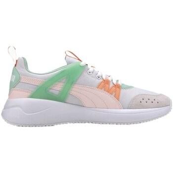 Topánky Ženy Nízke tenisky Puma Nuage Run Cage Sivá, Zelená, Ružová