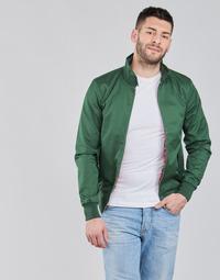 Oblečenie Muži Bundy  Harrington HARRINGTON PAULO Zelená