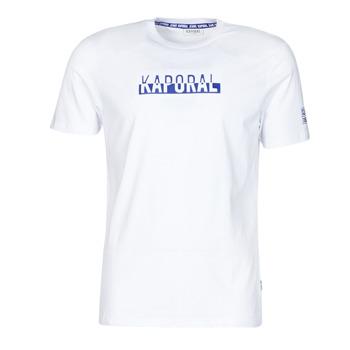 Oblečenie Muži Tričká s krátkym rukávom Kaporal DINO Biela