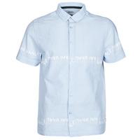 Oblečenie Muži Košele s krátkym rukávom Kaporal STEVE Modrá